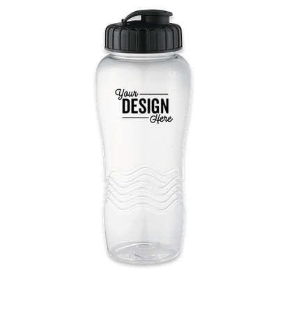 26 oz. Surfside Water Bottle - Clear