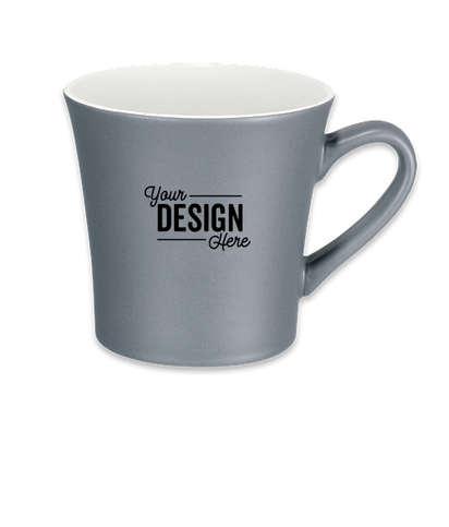 12 oz. Stormy Ceramic Mug - White