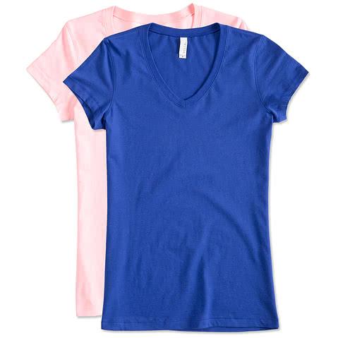 Bella + Canvas Juniors Jersey V-Neck T-shirt