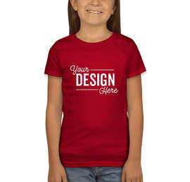 Next Level Youth Girls Jersey T-shirt