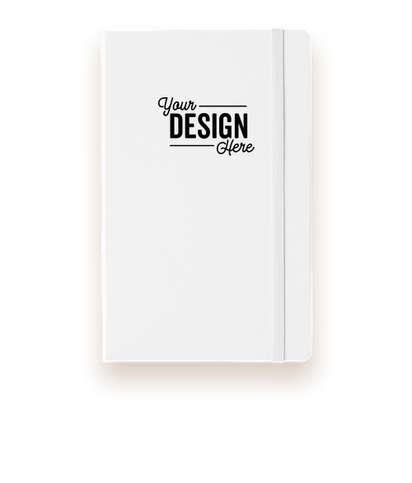 Moleskine Hard Cover Ruled Notebook - White