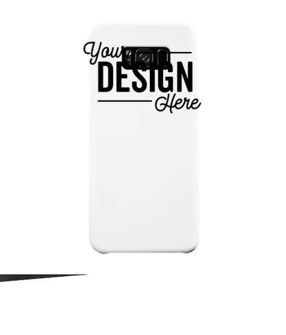 Full Color Galaxy S8+ Slim Phone Case - White