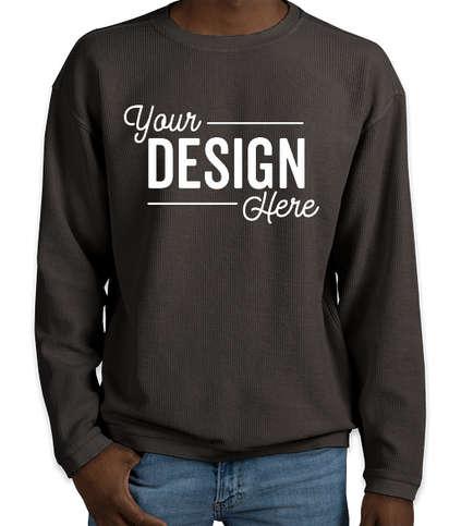 Charles River Camden Crewneck Sweatshirt - Vintage Black