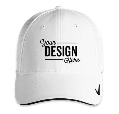 Nike Dri-FIT Mesh Back Hat - White / White