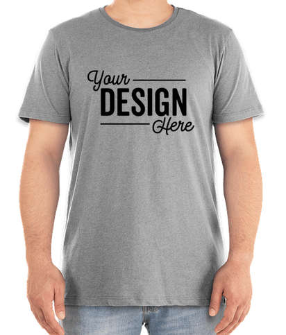 Marine Layer Re-Spun Crew T-shirt - Upcycled Grey