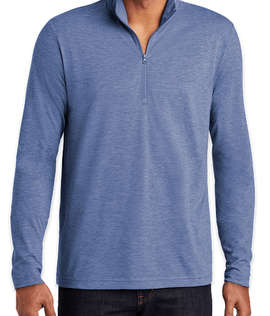 Sport-Tek Tri-Blend Quarter Zip Performance Shirt