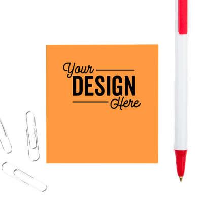 "Neon - 3M Post-it® Note- 2.75"" x 3"" - 50 sheets/pad - Neon Orange"