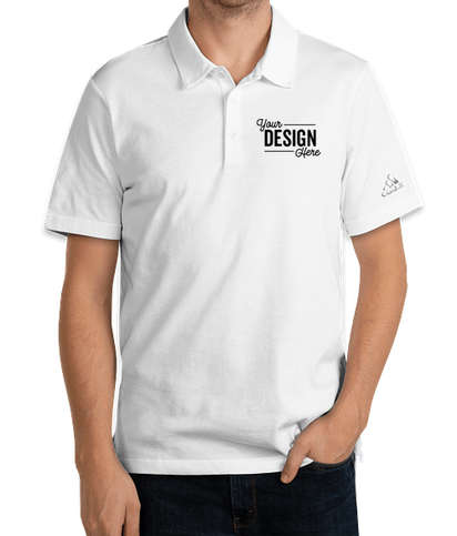 Adidas Recycled Blend Polo - White
