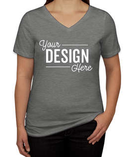 Bella + Canvas Women's Tri-Blend V-Neck T-shirt