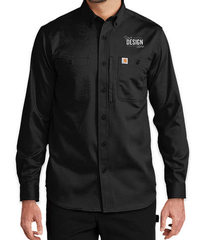 Carhartt Rugged Professional Long Sleeve Shirt  - Black