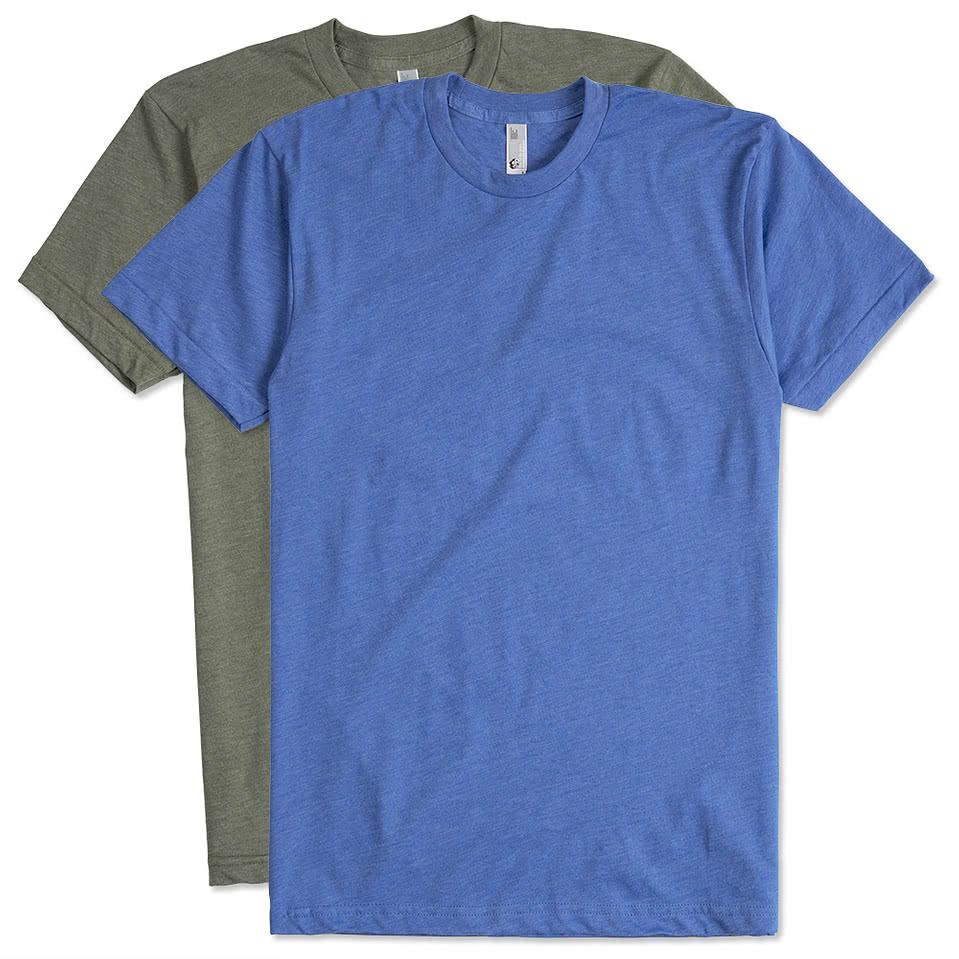 Design custom printed american apparel 50 50 t shirts for Custom t shirts online