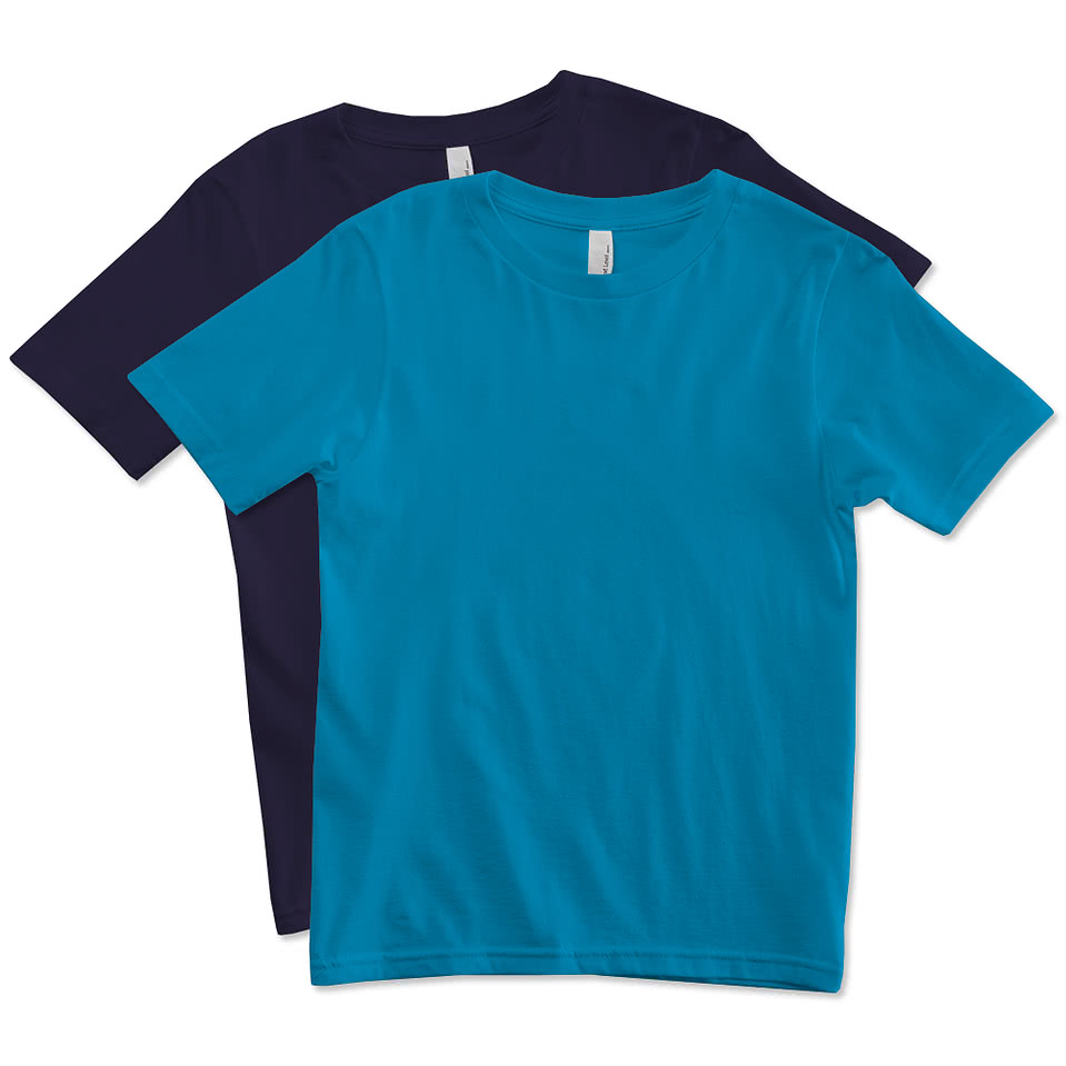 Custom next level youth jersey t shirt design t shirts for Customized t shirts online india