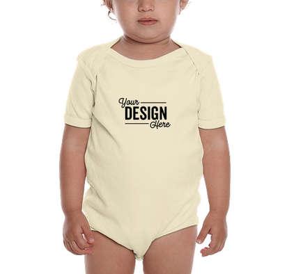 Royal Apparel USA-Made Organic Baby Bodysuit - Natural