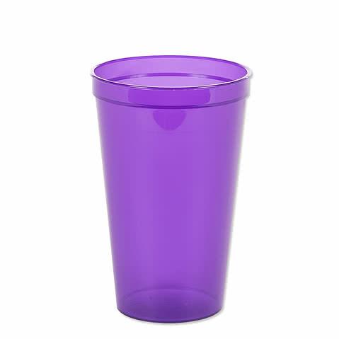 22 oz. Translucent Plastic Stadium Cup