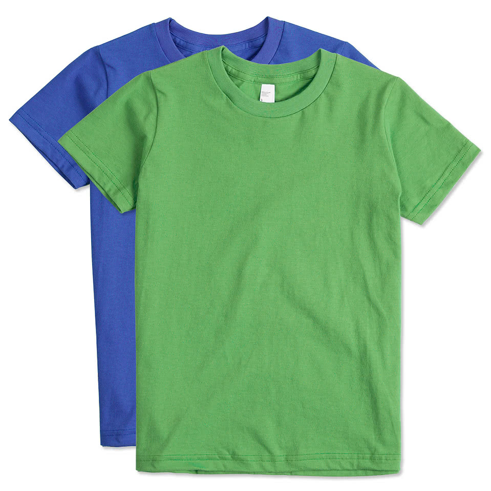 American Apparel Youth Jersey T-Shirt - Design Custom Kids ...