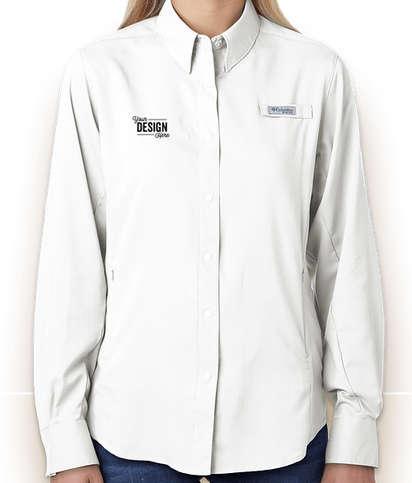 Columbia Women's Tamiami Long Sleeve Shirt - White