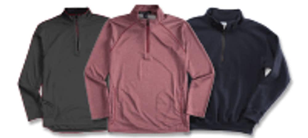1/4 Zip Pullover Sweatshirts