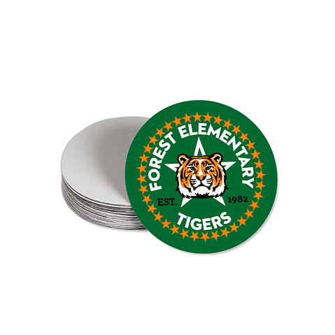 Full Color 2.5 in. Circle Magnet