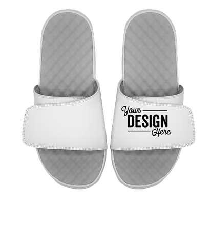 ISlide Youth Full Color Premium Slides - White / White