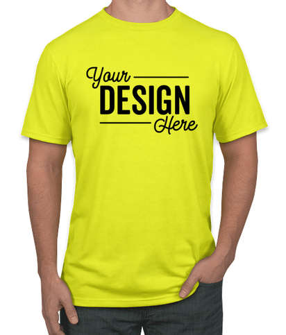 District Neon T-shirt - Neon Yellow