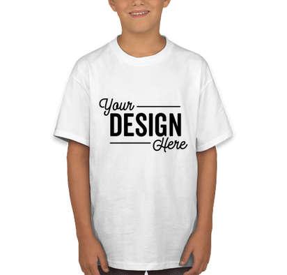 Champion Youth Tagless T-shirt - White