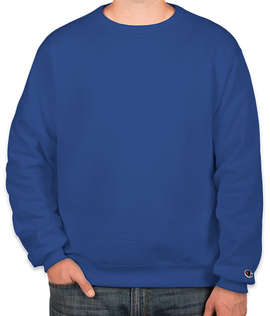 Embroidered Champion Double Dry Eco Crewneck Sweatshirt