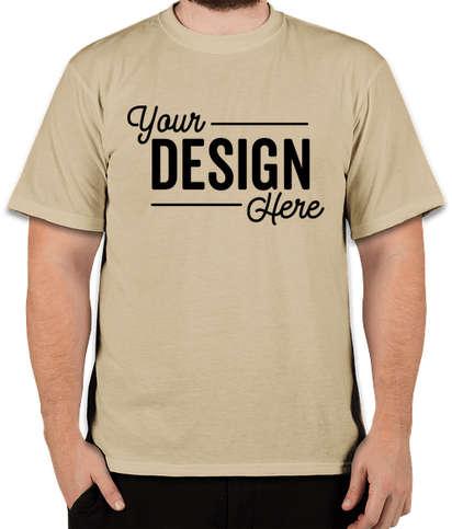 Soffe Military DriRelease Performance Blend T-shirt - Sand