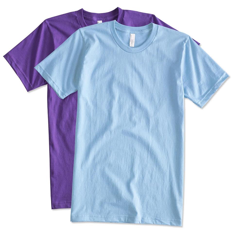 Design t shirt online canada - Canada American Apparel Jersey T Shirt