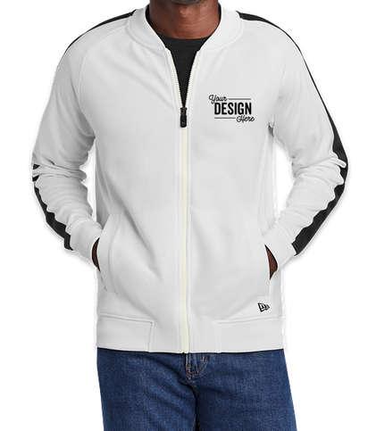 New Era Track Jacket - White / Black