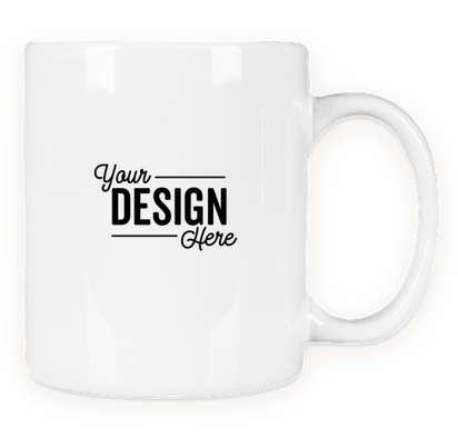 11 oz. Ceramic Mug (Set of 24) - White