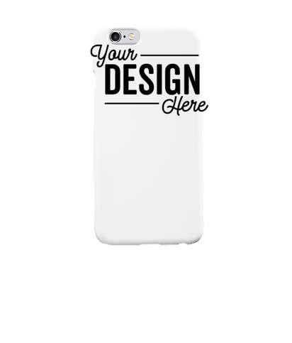 Full Color iPhone 6S Slim Phone Case - White