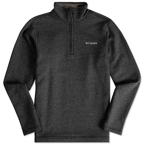 Columbia Half Zip Sweater Fleece Pullover
