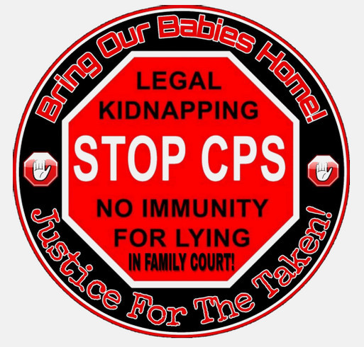 Expose CPS for Child Trafficking Custom Ink Fundraising