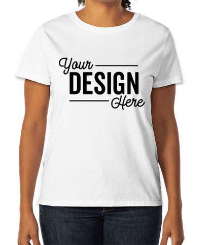 Hanes Women's 100% Cotton T-shirt - White