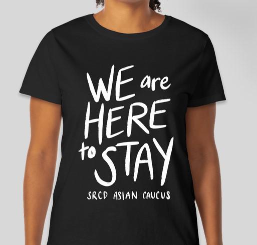 SRCD Asian Caucus Fundraiser - unisex shirt design - front