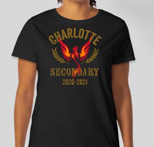 New CSS Spirit Wear Fundraiser - unisex shirt design - front