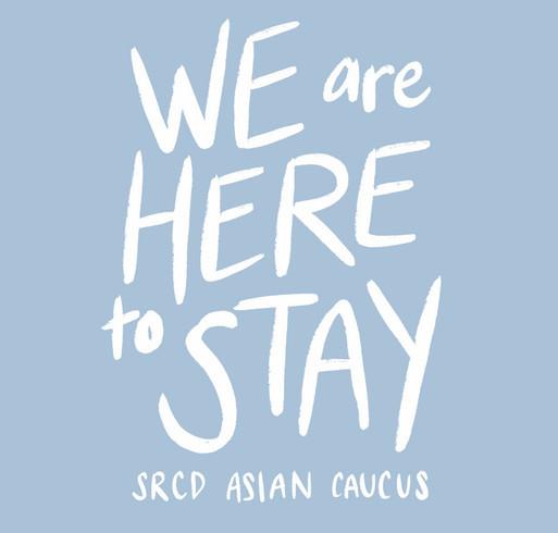 SRCD Asian Caucus shirt design - zoomed