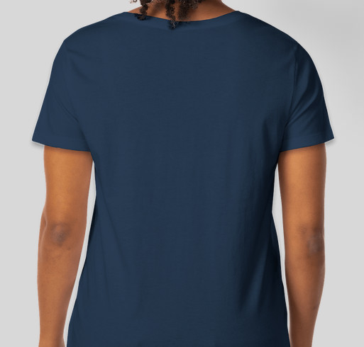 Showing our love and support for Jodie McEwen Fundraiser - unisex shirt design - back