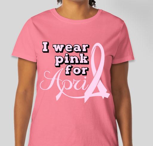 Help4April Fundraiser - unisex shirt design - front