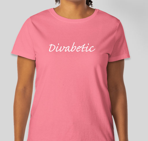 Divabetic - Wellness with a Wow! Fundraiser - unisex shirt design - front