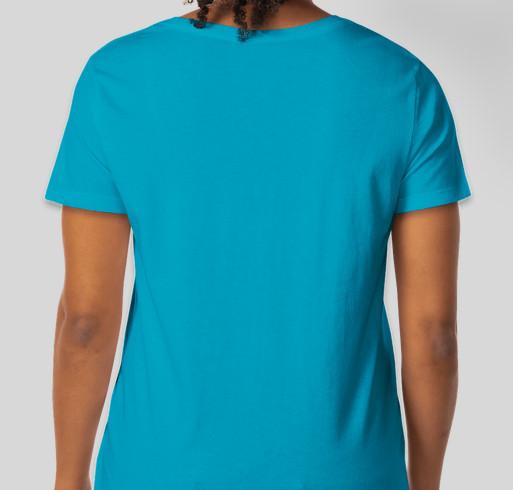 PFDD Aquatic Challenge Fundraiser - unisex shirt design - back