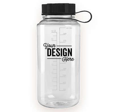 32 oz. Polycarbonate Water Bottle - Clear