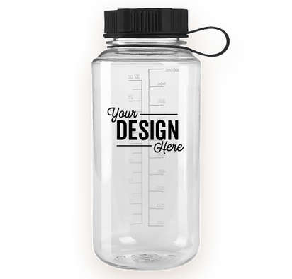32 oz. Polycarbonate Water Bottle - Clear