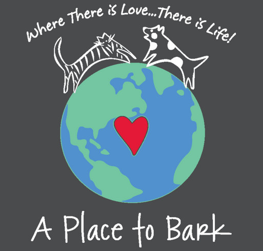 """""""A Place To Bark"""" shirt design - zoomed"""