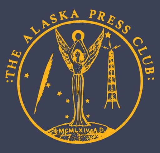 Alaska Flag Colors shirt design - zoomed