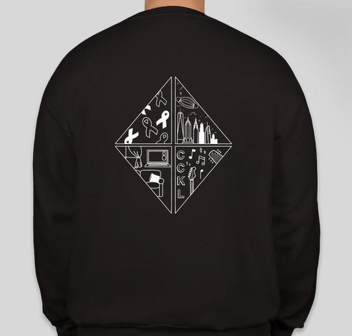 Cancer Can't Kill Love 8 Livestream Shirt RELAUNCH Fundraiser - unisex shirt design - back