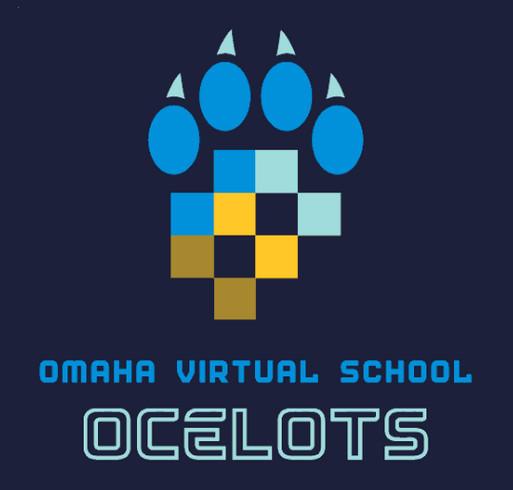 Omaha Virtual School shirt design - zoomed