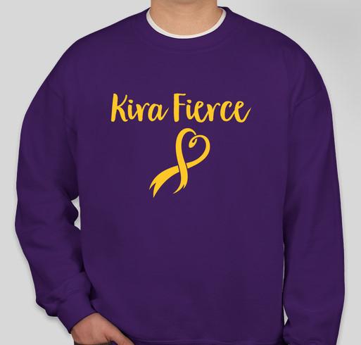 Kira Fierce T-Shirts! Fundraiser - unisex shirt design - front