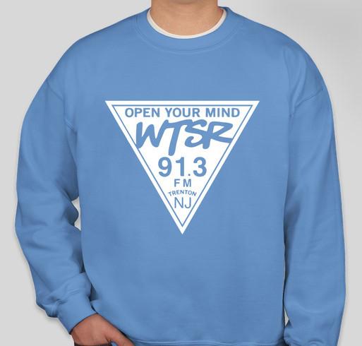 WTSR Crewneck Fundraiser Fall 2020 Fundraiser - unisex shirt design - front