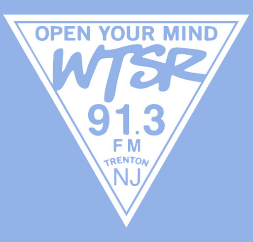 WTSR Crewneck Fundraiser Fall 2020 shirt design - zoomed